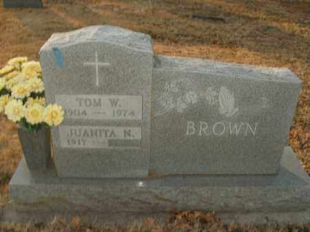 BROWN, TOM W. - Boone County, Arkansas | TOM W. BROWN - Arkansas Gravestone Photos