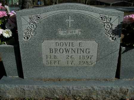 BROWNING, DOVIE E. - Boone County, Arkansas | DOVIE E. BROWNING - Arkansas Gravestone Photos