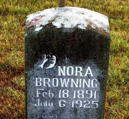 BROWNING, NORA - Boone County, Arkansas | NORA BROWNING - Arkansas Gravestone Photos