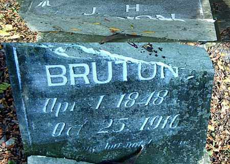 BRUTON, JOHN HARRELL - Boone County, Arkansas | JOHN HARRELL BRUTON - Arkansas Gravestone Photos