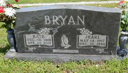 BRYAN, JEARL - Boone County, Arkansas | JEARL BRYAN - Arkansas Gravestone Photos