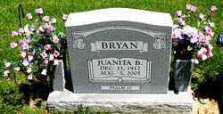 BRYAN, JUANITA B. - Boone County, Arkansas | JUANITA B. BRYAN - Arkansas Gravestone Photos