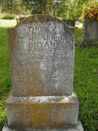 BRYAN, THOMAS V. - Boone County, Arkansas | THOMAS V. BRYAN - Arkansas Gravestone Photos