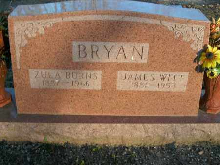 BRYAN, JAMES WITT - Boone County, Arkansas | JAMES WITT BRYAN - Arkansas Gravestone Photos