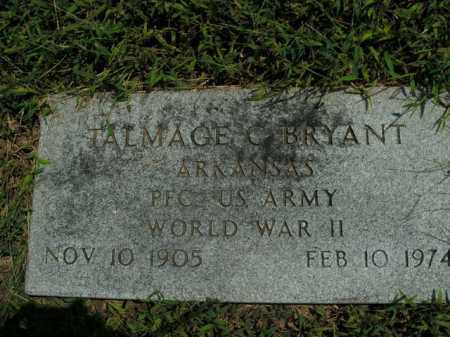 BRYANT  (VETERAN WWII), TALMAGE C. - Boone County, Arkansas | TALMAGE C. BRYANT  (VETERAN WWII) - Arkansas Gravestone Photos