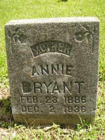 BRYANT, ANNIE - Boone County, Arkansas | ANNIE BRYANT - Arkansas Gravestone Photos