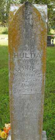 BRYANT, HULDA - Boone County, Arkansas | HULDA BRYANT - Arkansas Gravestone Photos