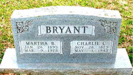 BAKER BRYANT, MARTHA B. - Boone County, Arkansas | MARTHA B. BAKER BRYANT - Arkansas Gravestone Photos