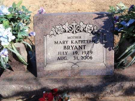 BRYANT, MARY KATHLEEN - Boone County, Arkansas | MARY KATHLEEN BRYANT - Arkansas Gravestone Photos