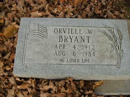 BRYANT, ORVILLE W. - Boone County, Arkansas | ORVILLE W. BRYANT - Arkansas Gravestone Photos