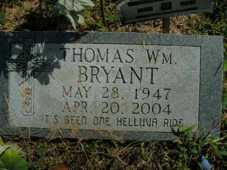 BRYANT, THOMAS WM. - Boone County, Arkansas | THOMAS WM. BRYANT - Arkansas Gravestone Photos