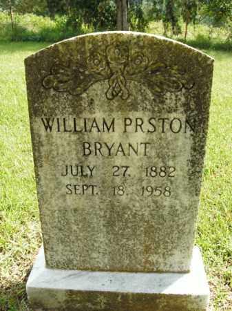 BRYANT, WILLIAM PRESTON - Boone County, Arkansas | WILLIAM PRESTON BRYANT - Arkansas Gravestone Photos