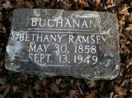 RAMSEY BUCHANAN, BETHANY - Boone County, Arkansas | BETHANY RAMSEY BUCHANAN - Arkansas Gravestone Photos