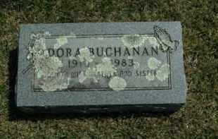 BUCHANAN, DORA - Boone County, Arkansas | DORA BUCHANAN - Arkansas Gravestone Photos