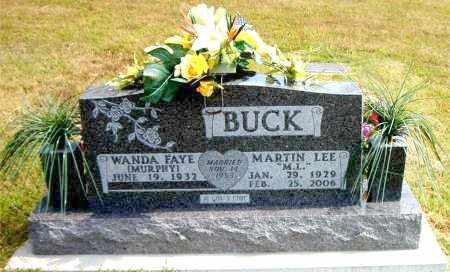 BUCK, MARTIN LEE - Boone County, Arkansas | MARTIN LEE BUCK - Arkansas Gravestone Photos