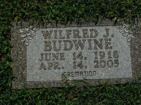 BUDWINE, WILFRED J. - Boone County, Arkansas | WILFRED J. BUDWINE - Arkansas Gravestone Photos