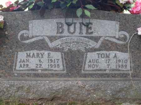 BUIE, MARY ETTA - Boone County, Arkansas | MARY ETTA BUIE - Arkansas Gravestone Photos