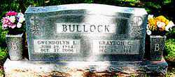 BULLOCK, GWENDOLYN L - Boone County, Arkansas | GWENDOLYN L BULLOCK - Arkansas Gravestone Photos