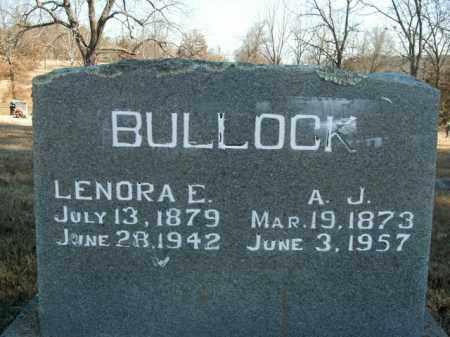 BULLOCK, ANDREW JACKSON - Boone County, Arkansas | ANDREW JACKSON BULLOCK - Arkansas Gravestone Photos