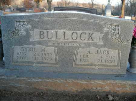 BULLOCK, SYBIL M. - Boone County, Arkansas | SYBIL M. BULLOCK - Arkansas Gravestone Photos