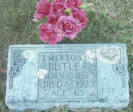 BUTLER, EMERSON KENT - Boone County, Arkansas | EMERSON KENT BUTLER - Arkansas Gravestone Photos