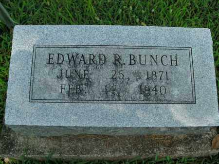 BUNCH, EDWARD R. - Boone County, Arkansas | EDWARD R. BUNCH - Arkansas Gravestone Photos