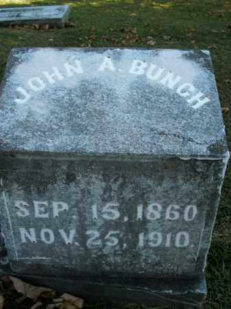 BUNCH, JOHN ALVIN - Boone County, Arkansas | JOHN ALVIN BUNCH - Arkansas Gravestone Photos