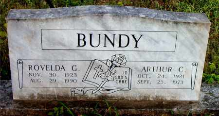 BUNDY, ROVELDA  G. - Boone County, Arkansas | ROVELDA  G. BUNDY - Arkansas Gravestone Photos