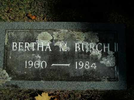 BURCH, BERTHA M. - Boone County, Arkansas | BERTHA M. BURCH - Arkansas Gravestone Photos