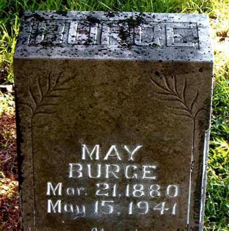 BURGE, MAY - Boone County, Arkansas | MAY BURGE - Arkansas Gravestone Photos
