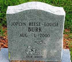 BURK, JOPLYN REESE-LOUISE - Boone County, Arkansas | JOPLYN REESE-LOUISE BURK - Arkansas Gravestone Photos