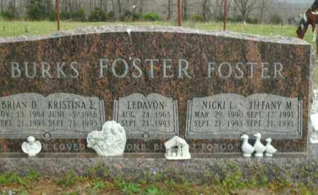 FOSTER, TIFFANY M. - Boone County, Arkansas | TIFFANY M. FOSTER - Arkansas Gravestone Photos