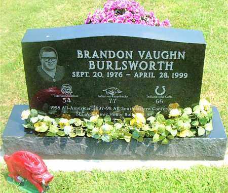 BURLSWORTH, BRANDON VAUGHN - Boone County, Arkansas | BRANDON VAUGHN BURLSWORTH - Arkansas Gravestone Photos