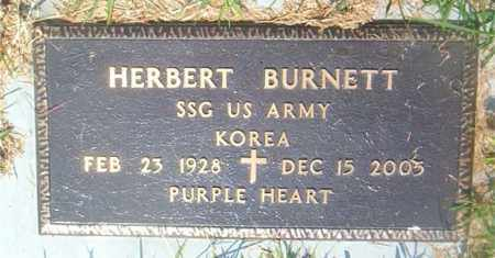 BURNETT  (VETERAN KOR), HERBERT - Boone County, Arkansas | HERBERT BURNETT  (VETERAN KOR) - Arkansas Gravestone Photos