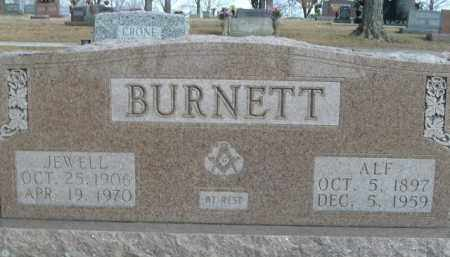 BURNETT, ALF - Boone County, Arkansas | ALF BURNETT - Arkansas Gravestone Photos