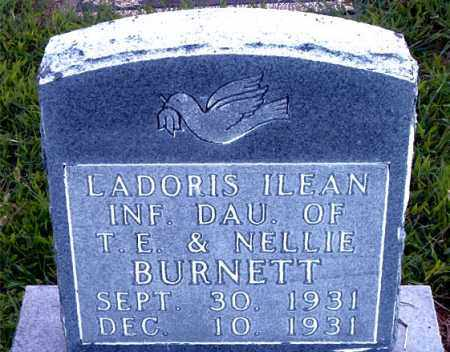 BURNETT, LADORIS  ILEAN - Boone County, Arkansas | LADORIS  ILEAN BURNETT - Arkansas Gravestone Photos