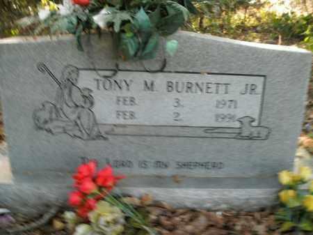 BURNETT, JR, TONY M. - Boone County, Arkansas | TONY M. BURNETT, JR - Arkansas Gravestone Photos