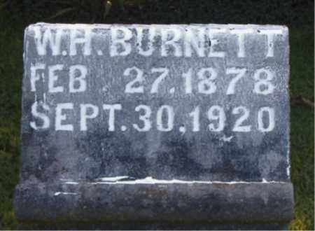 BURNETT, WILLIAM HENRY - Boone County, Arkansas | WILLIAM HENRY BURNETT - Arkansas Gravestone Photos