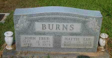 BURNS, JOHN FRED - Boone County, Arkansas | JOHN FRED BURNS - Arkansas Gravestone Photos