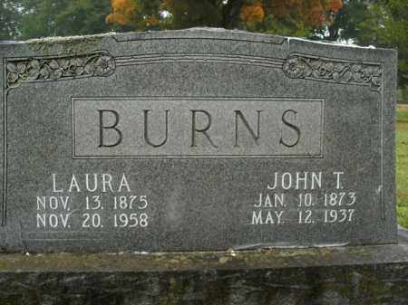 BURNS, JOHN T. - Boone County, Arkansas | JOHN T. BURNS - Arkansas Gravestone Photos