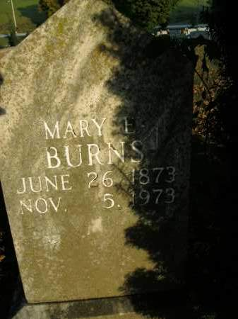 BURNS, MARY E. - Boone County, Arkansas | MARY E. BURNS - Arkansas Gravestone Photos