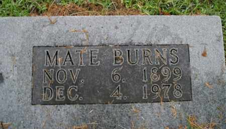 BURNS, MATE - Boone County, Arkansas | MATE BURNS - Arkansas Gravestone Photos