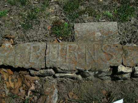 BURNS, UNKNOWN - Boone County, Arkansas   UNKNOWN BURNS - Arkansas Gravestone Photos
