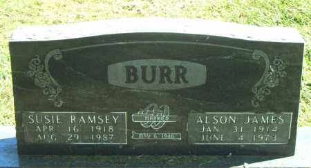 RAMSEY BURR, SUSIE - Boone County, Arkansas | SUSIE RAMSEY BURR - Arkansas Gravestone Photos
