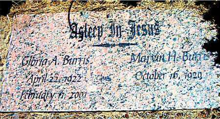 BURRIS, GLORIA  A. - Boone County, Arkansas | GLORIA  A. BURRIS - Arkansas Gravestone Photos