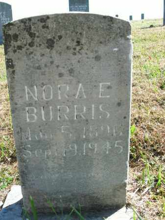 BURRIS, NORA E. - Boone County, Arkansas | NORA E. BURRIS - Arkansas Gravestone Photos