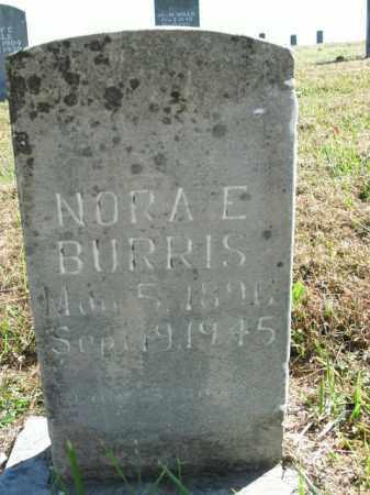 BURRIS, NORA E. - Boone County, Arkansas | NORA E. BURRIS - Arkansas Gravestone Photos