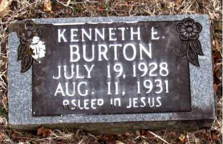 BURTON, KENNETH  E. - Boone County, Arkansas | KENNETH  E. BURTON - Arkansas Gravestone Photos