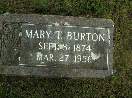 BURTON, MARY T. - Boone County, Arkansas | MARY T. BURTON - Arkansas Gravestone Photos