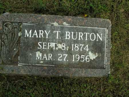 BURTON, MARY T. - Boone County, Arkansas   MARY T. BURTON - Arkansas Gravestone Photos